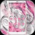 Free Pink Rose Love Diamond Theme APK for Windows 8