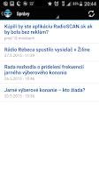 Screenshot of RadioSCAN.sk - Slovakia radios