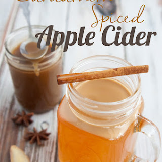 Chai Spiced Caramel Apple Cider