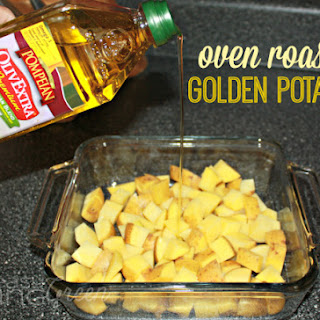 Oven Roasted Golden Potatoes