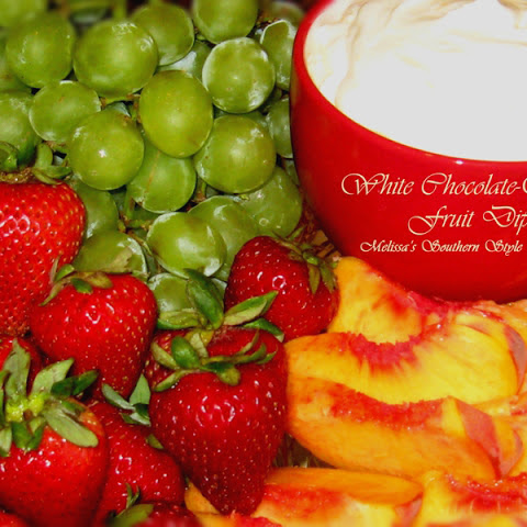 White Chocolate-Orange Fruit Dip