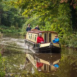 by Stephen  Barker - Transportation Boats