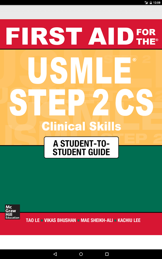 First Aid USMLE Step 2 CS 5/E Screenshot 8