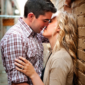 Passionate Kiss by Melissa Papaj - People Couples ( couple hugging )