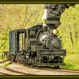 Pickin' Up Steam by James Eickman - Transportation Trains (  )