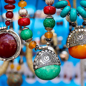 3 Sisters of Fashion by Amit Aggarwal - Artistic Objects Jewelry ( haryana, fashion, crafts mela, 2015, faridabad, three, surajkund, jewelry, necklace,  )