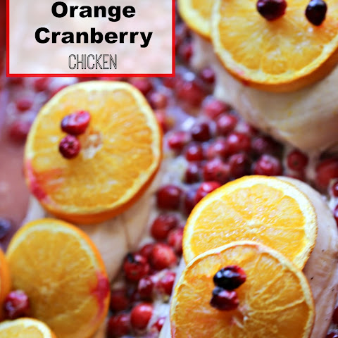 Cranberry Orange Juice Chicken