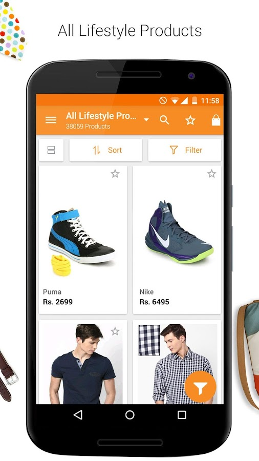 Jabong-Online Fashion Shopping Screenshot 2