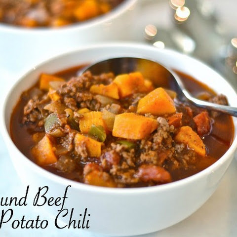 Ground Beef Sweet Potato Chili – Paleo