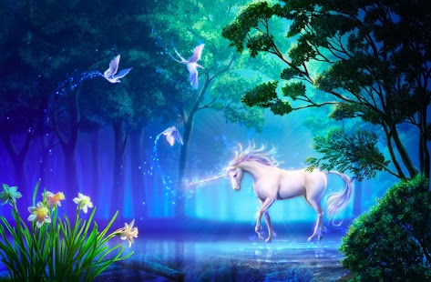 Unicorn Magic Live Wallpaper - screenshot