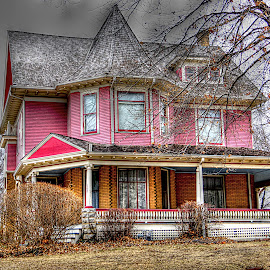 The Pink Victorian~ by Karen McKenzie McAdoo - Buildings & Architecture Homes