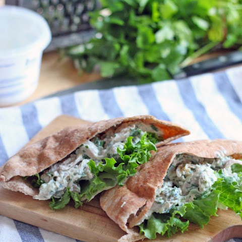 Tzatziki Greek Yogurt Chicken Salad
