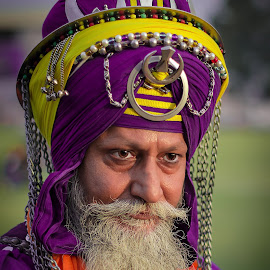 Nihang Singh by KP Singh - People Portraits of Men ( punjab, kila, sikhism, nihang, india, ludhiana, raipur,  )