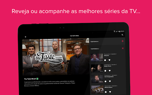 App Globosat Play: Programas de TV APK for Windows Phone