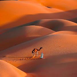Friendship by Adeeb Alani - Landscapes Deserts ( #nikond700 #nikond3 #canon )