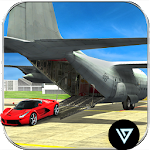 Airplane Pilot Car Transporter Icon
