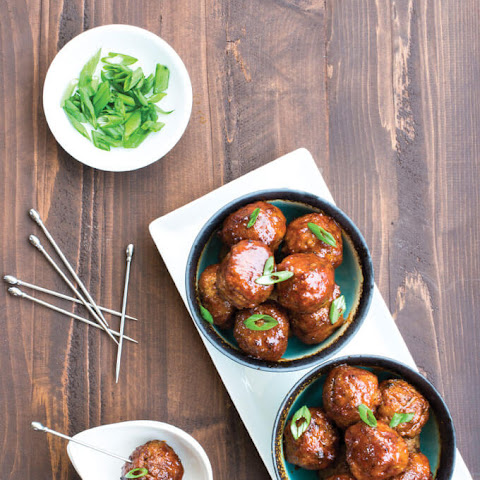 Honey Chipotle Meatballs | The Paleo Cupboard Cookbook