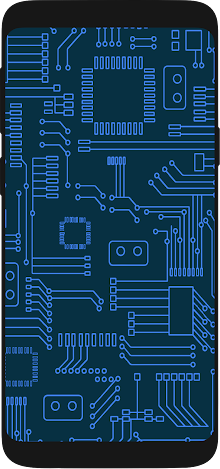 Device with circuits