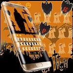 Ghost Bat Halloween Keyboard Icon