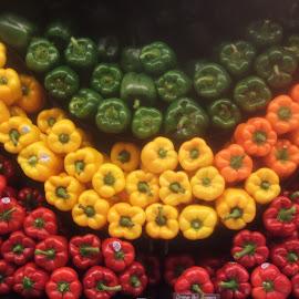 Lots of Peppers by Linda Brown - Food & Drink Fruits & Vegetables