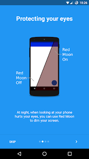 Red Moon - Screen Filter Screenshot