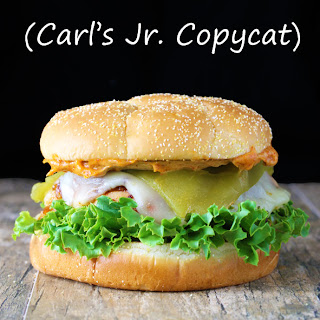 Sante Fe Grilled Chicken Sandwich (Carl's Jr. Copycat)