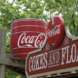 Coke Sign  by Jeff Brown - Artistic Objects Signs ( sign, coca cola, artistic objects )