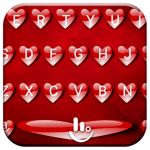 Valentine 8 TouchPal Keyboard