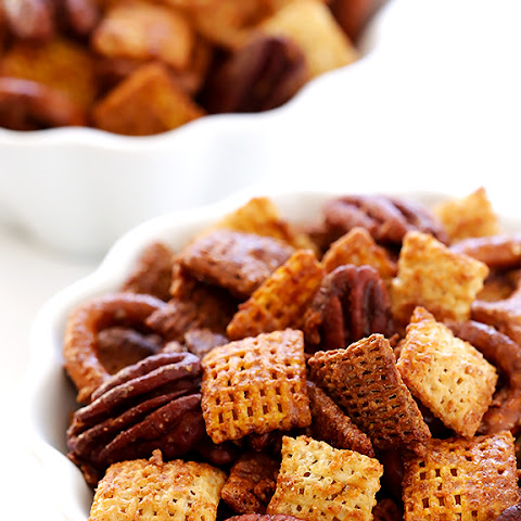 Candied Pecan Chex Mix