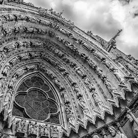 Notre Dame Rouen  by Antonello Madau - Buildings & Architecture Places of Worship