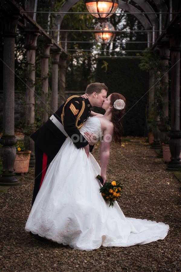by Victor Harris - Wedding Bride & Groom