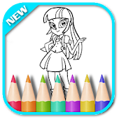 Game Coloring Equestria APK for Windows Phone