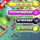Cheat for Clash of Clans Prank Icon