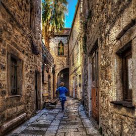 by Dado Barić - City,  Street & Park  Street Scenes