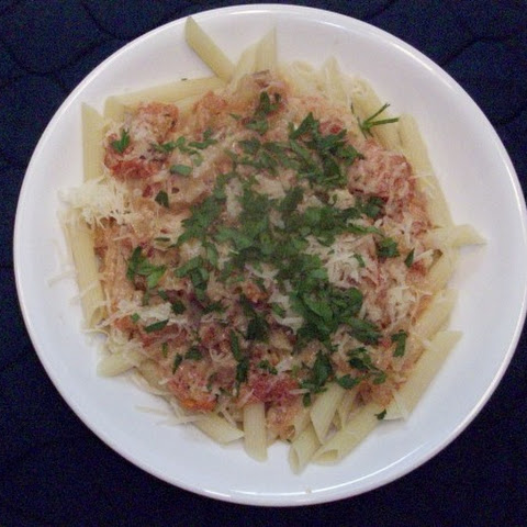 Pancetta and Vodka Penne Pasta