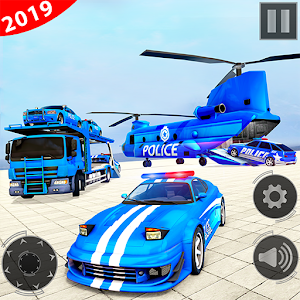 Police Car Transporter Truck 2019 For PC / Windows 7/8/10 / Mac – Free Download