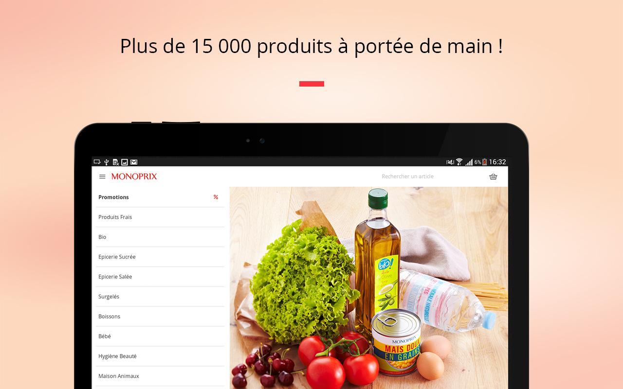 Monoprix Screenshot 5