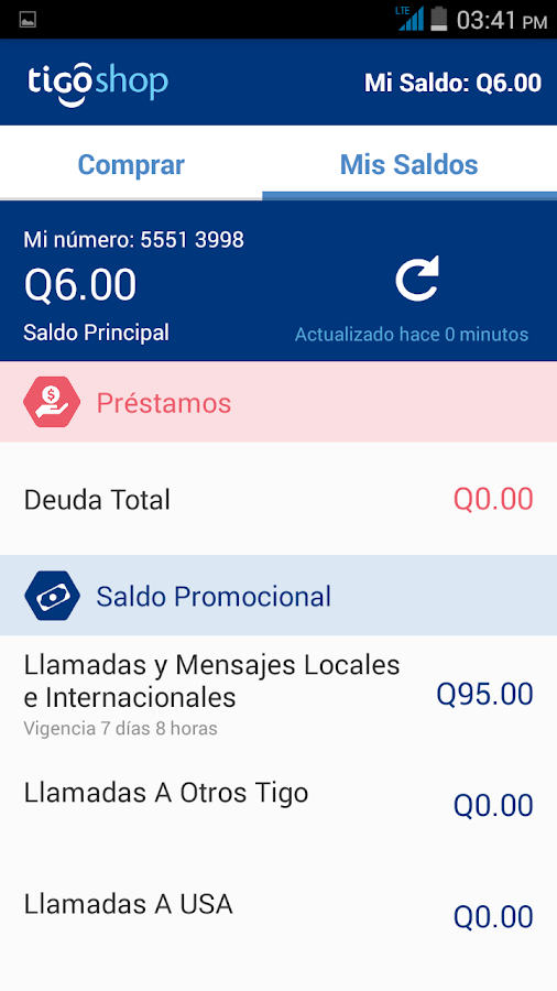 Tigo Shop Screenshot 5