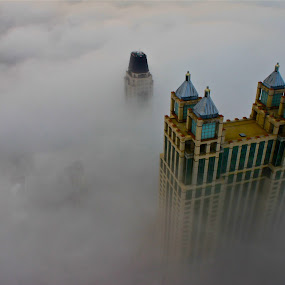 There are no rules of architecture for a castle in the clouds.  ~G.K. Chesterton by Liana Lputyan - Landscapes Travel
