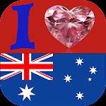 Love Australia Profile Frame Icon