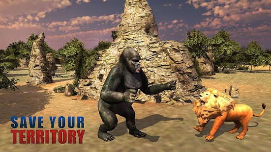 Angry Gorilla Simulator 3D - screenshot