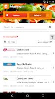 Screenshot of Takeaway.com - Order Food