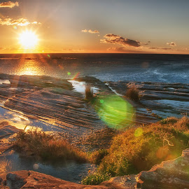 coogee sunrise by Reygan Tomalon - Novices Only Landscapes