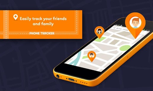 Phone tracker Find my friends