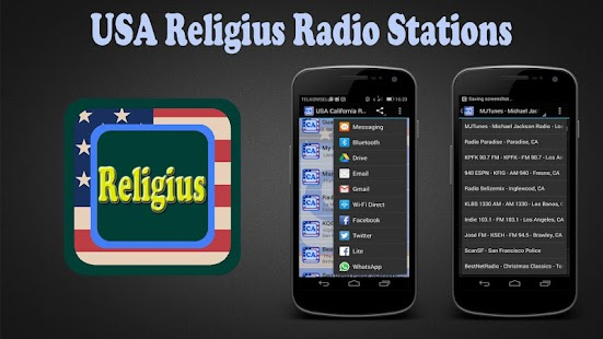 USA Religius Radio Stations - screenshot