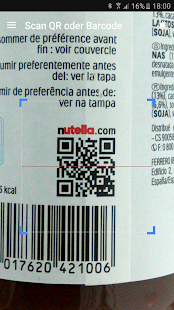 QR & Barcode Scanner PRO Screenshot