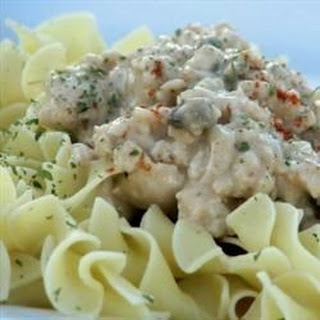 Lazygirl's Ground Turkey Stroganoff
