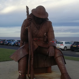 British Tommy by Anthony Whittle - Buildings & Architecture Statues & Monuments