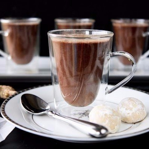 Ginger Hot Chocolate. Dessert