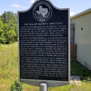 Many pioneers belonged to the Ancient, Free and Accepted Masons, an order active in education. Among Masons settling in this area by 1845 were Republic of Texas leaders William Clark, James Gaines, ...